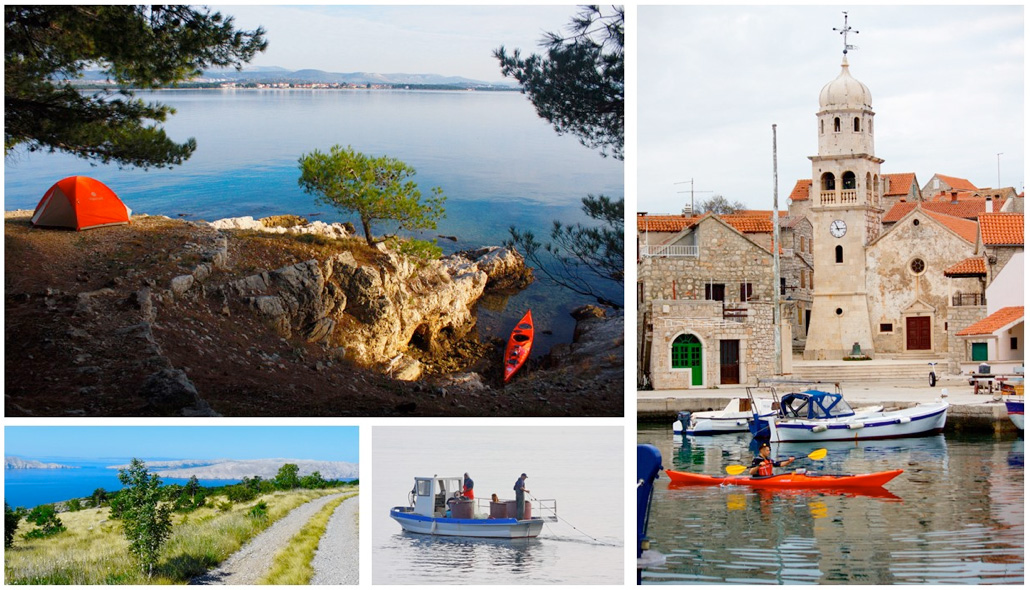 Croatia Kayak Trip Day 1
